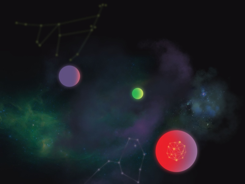 [GAME CONCEPT] Cosmos universe star cosmos game concept design illustration