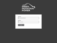 GMP - Login Page
