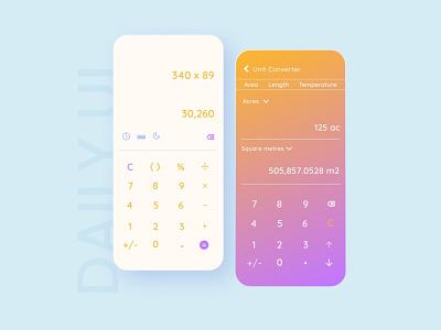 Calculator 004 calculator ui calculator figmadesign 100daychallenge uidesign ui figma dailyui daily 100 challenge 100daysofui