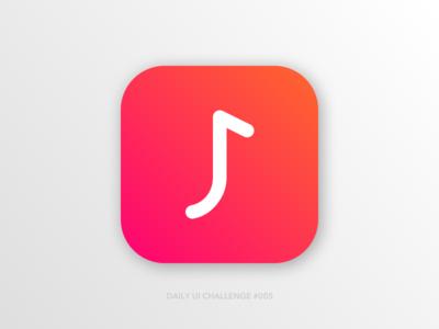 Daily UI #005 - App Icon jamit music app sketch digital design design daily ui 005 logo ux @daily-ui daily 100 app icon ui dailyui