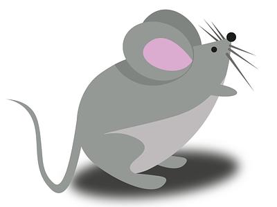 mouse vector branding illustrator design flat illustration