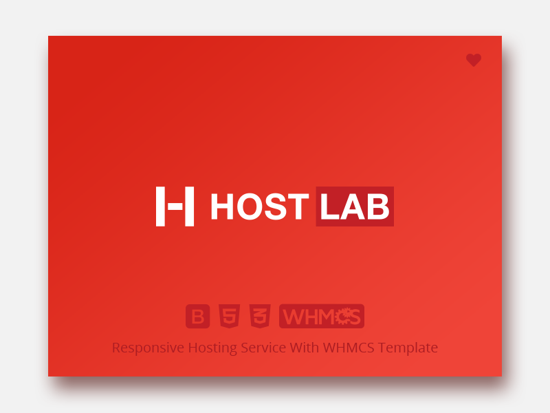 Hostlab - Responsive Hosting Service with WHMCS Template bootstrap 4 integration editable dedicated branding template whmcs design servers corporate blog domains reseller responsive provider html 5 datacenter css 3 hosting cloud