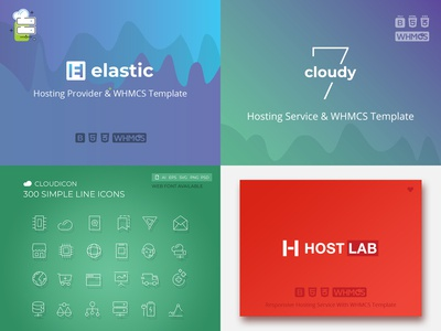 Hosting Template Collection