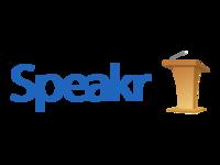Speakr Logo Wooden Podium
