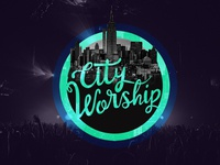 City Worship. Logo design