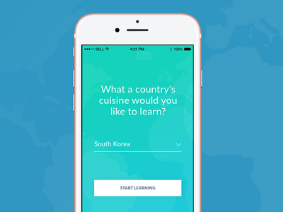 Minimal Onboarding for Recipe Application