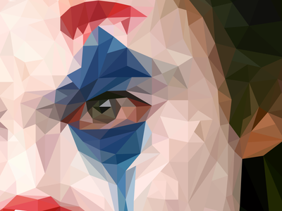 Joker Low Poly vector illustration vector art vector design illustration illustrator low poly art low polygon lowpolyart low-poly lowpoly low joker joaquin phoenix
