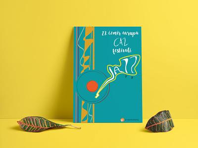 27. İzmir Avrupa Caz Festivali Afiş  Tasarımı