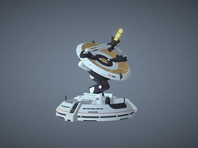 Radar Overwatch game art blender3d adobe photoshop 3dmodels 3dcoat