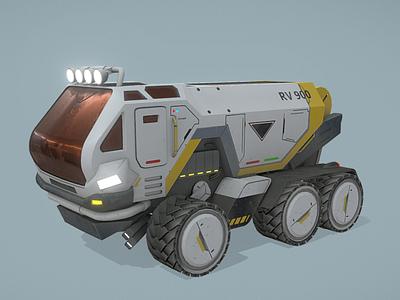 Rover overwatch rover overwatch marmoset substance painter game art blender3d adobe photoshop 3dmodels