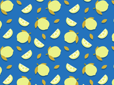 Pattern pattern lemon lemon orange pattern vector illustration vectorillustration vectorart illustration flat artwork art