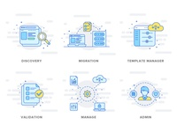 Icon design for cloud security