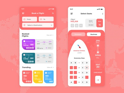Flight Booking - Boarding Pass App traveling booking app boardingpass boarding airline airline app ticket plane flight app flight booking flight dailyui
