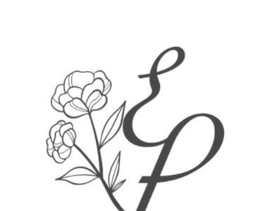 EP logo graphic design branding