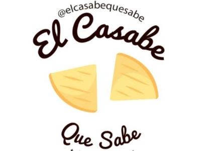 EL CASABE logo graphic design branding
