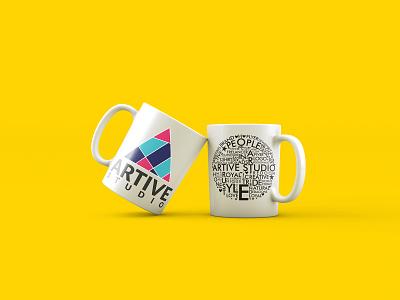Mug Design typogaphy logo