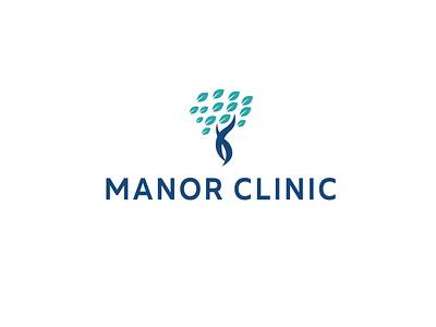 MANOR CLINIC logo illustration art creative design adobe photoshop graphic design illustration photography branding illustrator cc logodesign