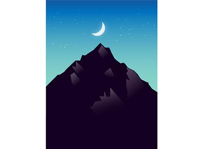 mountain illustration creative design adobe photography branding logo design illustration photoshop graphic design illustrator