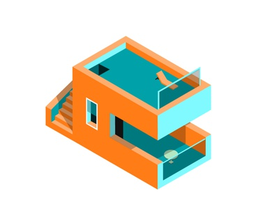 Isometric home design favicon vector illustration art creative photography branding logo design illustration photoshop isometric design graphic design