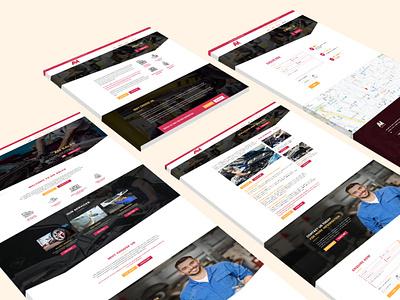 NEW WEBSITE LAUNCH photoshop illustration graphic design website design branding website marketing web design design