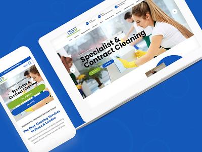 New Website Champion Services Group photoshop graphic design website design branding seo website web design marketing essex design