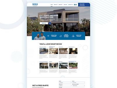 Website REDESIGN! website essex illustration web photoshop website design branding web design marketing design