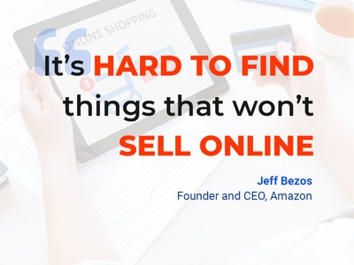 What would you sell online? products seo website design amazon selling online marketing