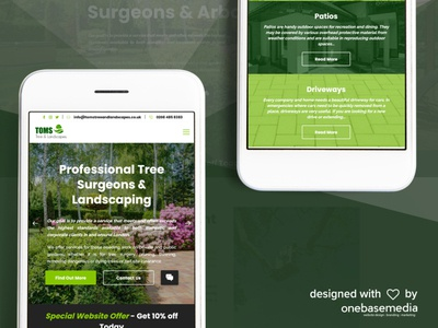 Toms Tree & Landscaping Mobile Version