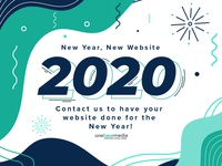 2020 New Year New Website