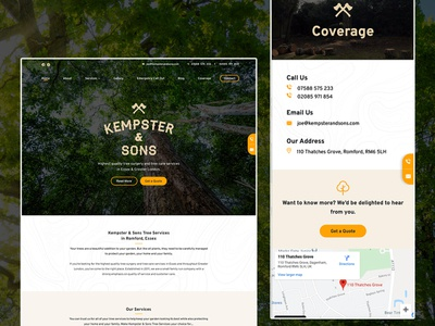 Kempster & Sons Tree Services