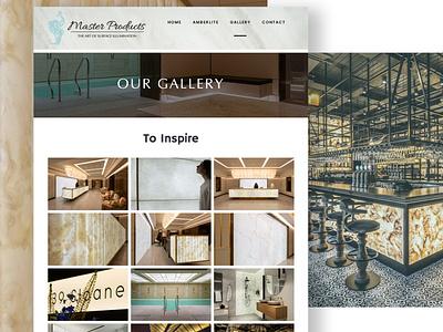 master products website design essex backlit features