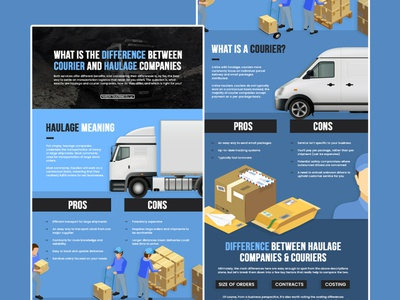 mason trucking marketing seo graphic design infographic haulage