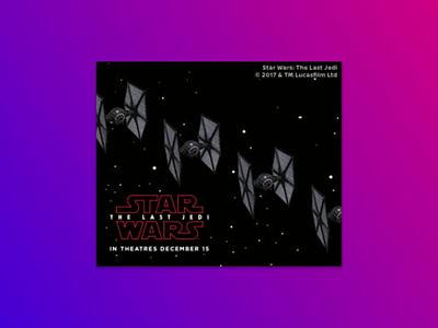 Star Wars - Nissan Rogue motion html5 banner ads nissan animation starwars star wars