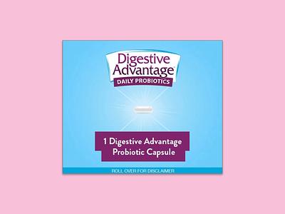 Digestive Advantage probiotics digestive advantage banner ads banners html5
