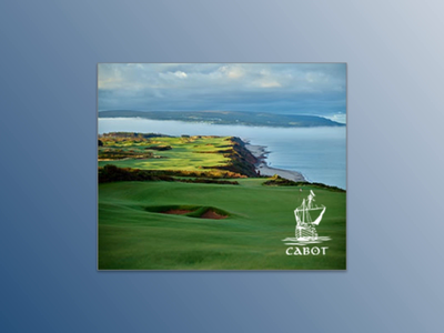 Discover Cabot html5 lines banner golf cabot