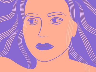 my avatar line art minimal self lineart illustrator illustration self portrait