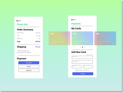 UI Daily Challenge Day 2 - Credit Card Checkout dailyui challenge checkout credit card credit card checkout fade simple uidesign ui design