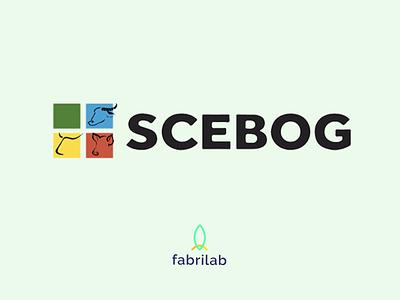 SCEBOG charte graphic design french guyana farm website web logo branding design