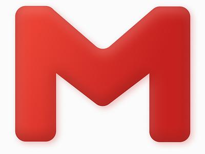 Daily Ui 005 Logo dailyui 005 redesign concept redesign logo gmail logo gmail neumorphism neomorphism dailyuichallenge dailyui