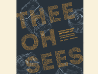 Thee Oh Sees poster