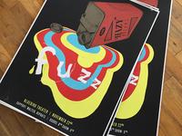 Fuzz gig poster