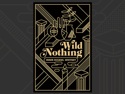 Wild Nothing Poster illustration poster