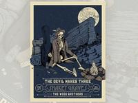 Devil makes Three / Shakey Graves Poster