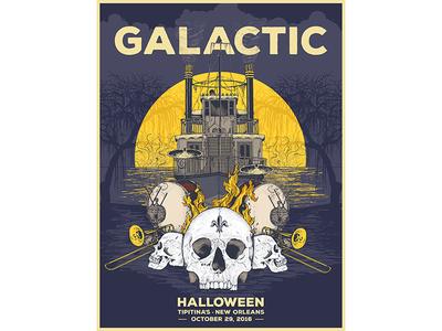 Galactic gig poster poster gig galactic