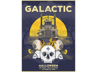 Galactic gig poster