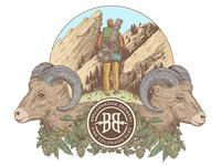 Breckenridge Brewery Illustration