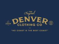 Denver Clothing Co. Branding