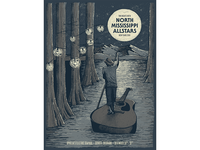 North Mississippi Allstars Gig Poster