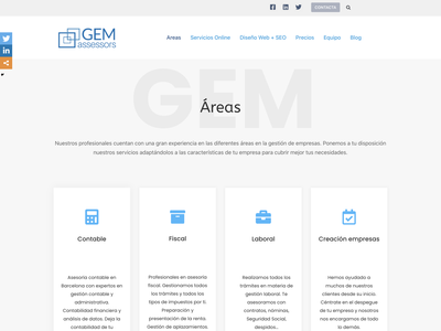 GEMAssessors.com icon website app webdesign seo branding web logo design