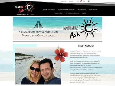 Cancun Ash icon logo branding website webdesign seo web design